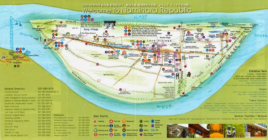 11 Aktiviti Yang Boleh Anda Cuba Di Pulau Nami