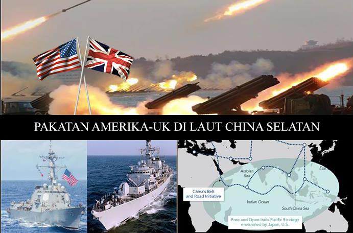 Pakatan Amerika - UK Di Laut China Selatan