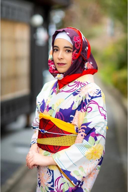 Sewa Kimono dan Hijab Di Yumeyakata, Kyoto