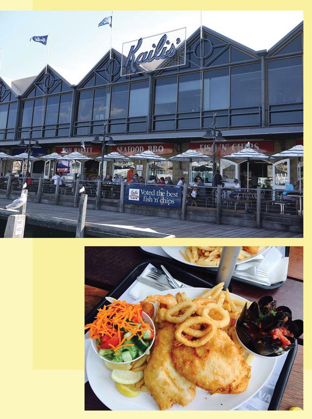 Restoran Halal KAILIS FISH MARKET CAFÉ Menyajikan Hidangan Seafood Di Perth
