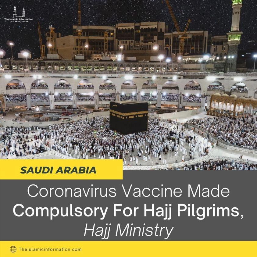 Kementerian Kesihatan Arab Saudi Wajibkan Vaksinasi untuk Jemaah Haji 2021