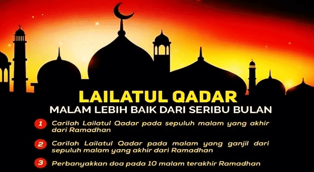 Bila Malam Lailatul Qadar 2021 di Malaysia dan Tanda-tanda