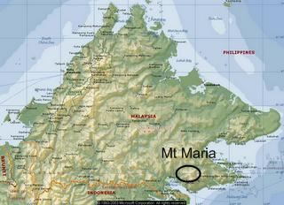 Malaysia Memiliki Gunung Berapi di Tawau, Pernah Meletus Ribuan Tahun yang Lalu